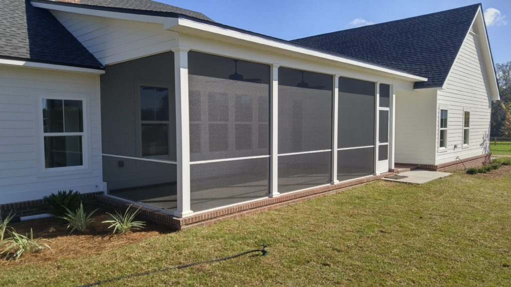 Screened In Porches Coastal Gutter Systems Llc
